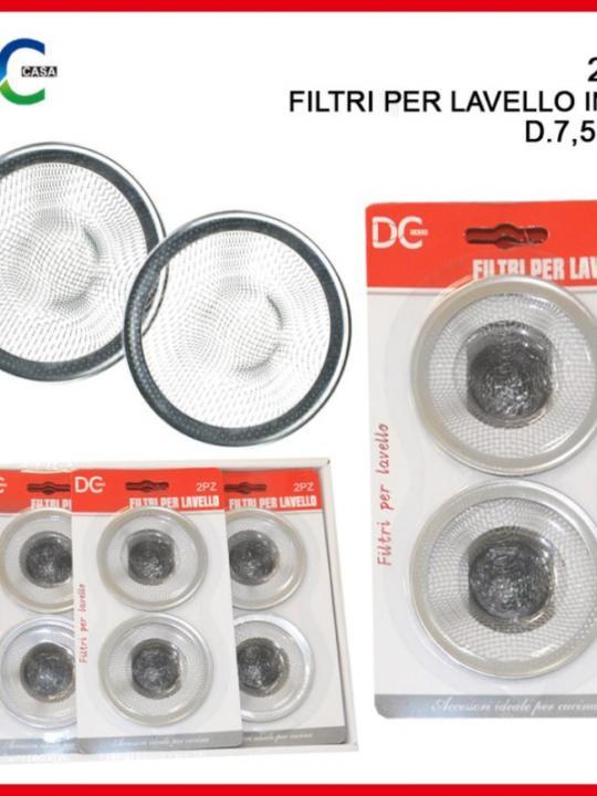 Filtri Per Lavello Inox 11,5/7,5/5,5Cm 3
