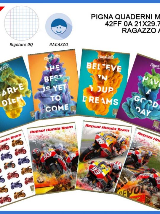 Pigna Quaderno Maxi 42Ff Oq 21X29.7Cm