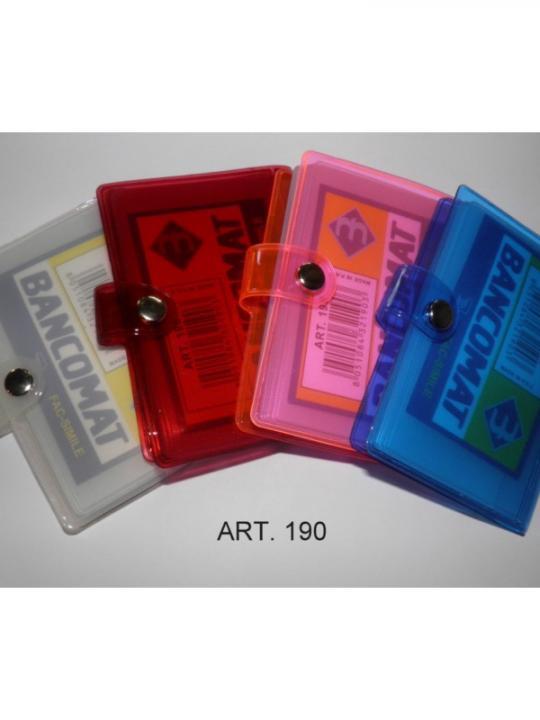 Porta Card Con Bottone