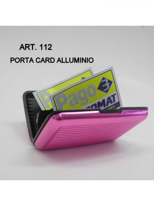 Porta Card In Alluminio