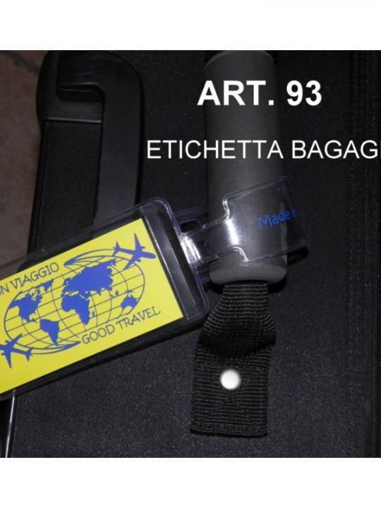 Etichetta Bagagli