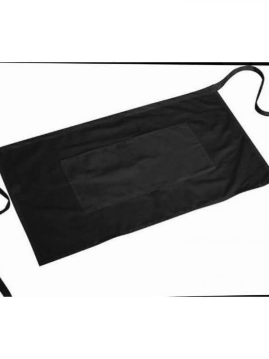 860-1 Grembiule Con Tasche Nero 40X70