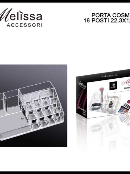Porta Cosmetici 16 Posti 22,3X12,7X8Cm
