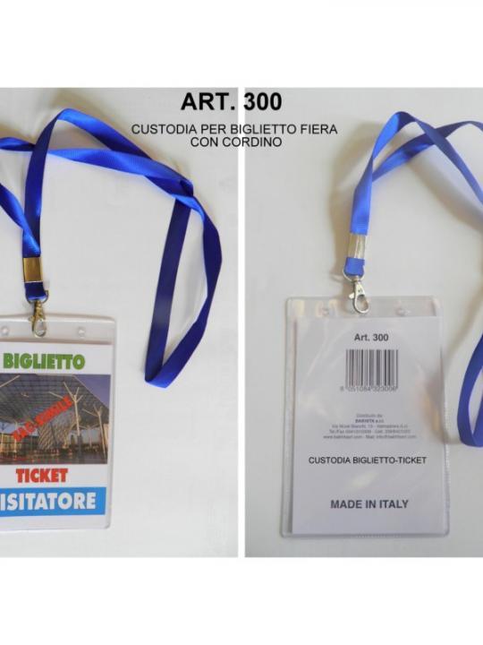 Art.300 - Porta Ticket Made In Italy