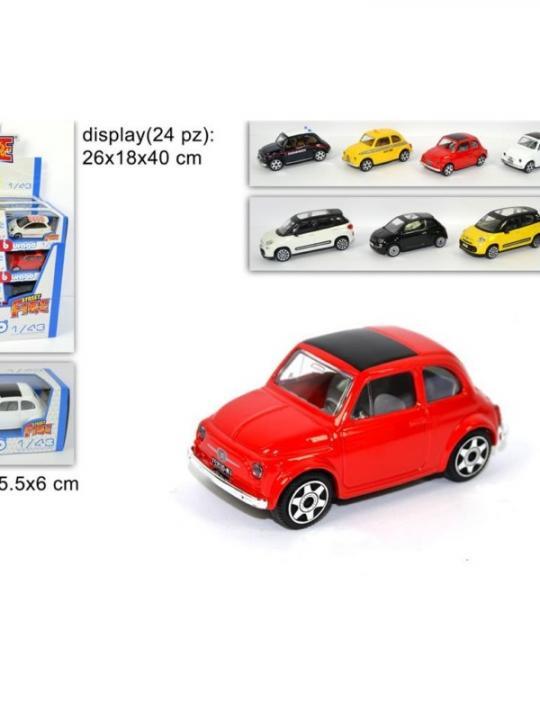 Fiat 500 Street Fire 1.43 Collezione