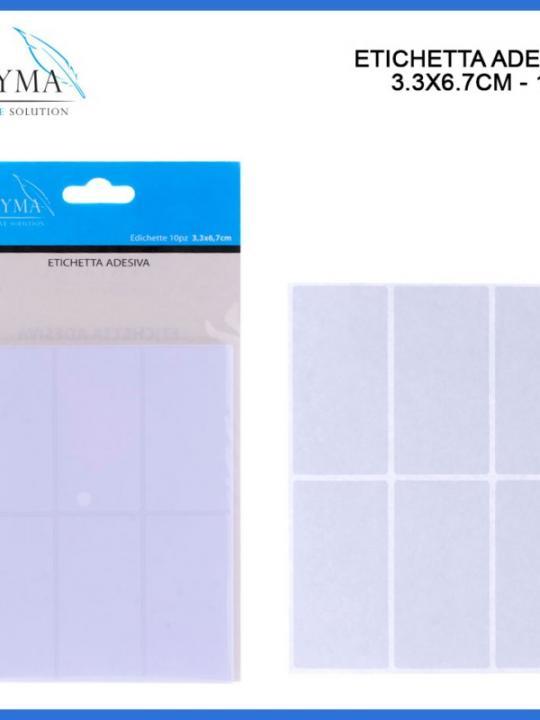Etichetta Adesiva 3,3X6,7Cm 10Pz