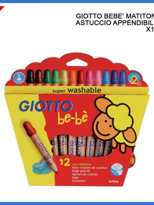 Giotto Bebe' Matitoni 12Pz