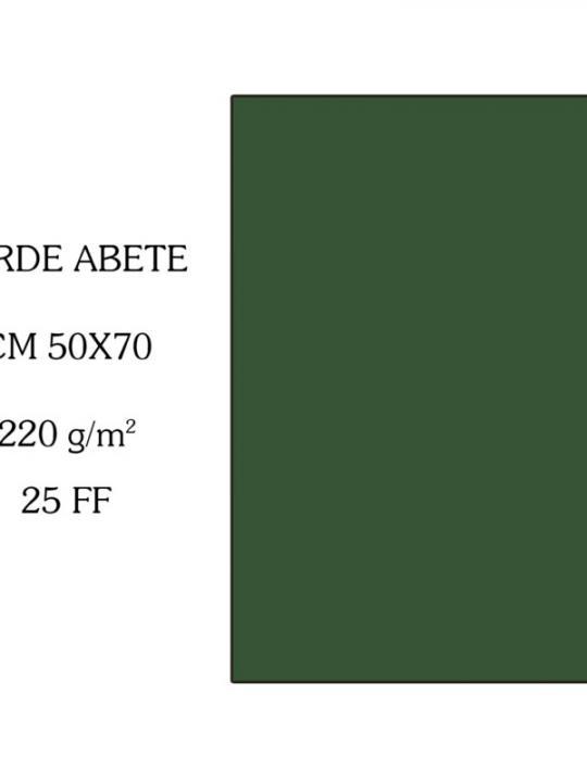 Verde Abete Bristol Colorline 50*70 220G