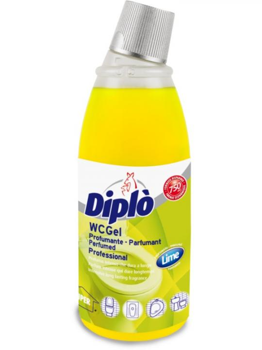 Diplo  Wc Gel Profumante Lime 750Ml