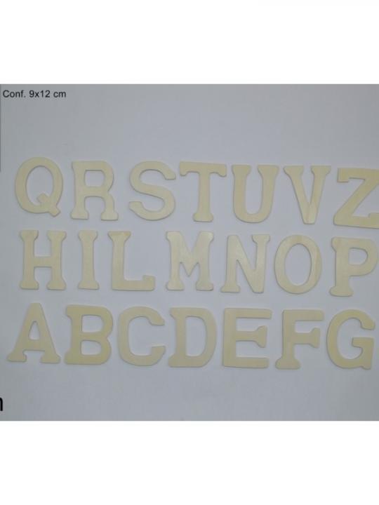 Lettere Legno 8Cm 21Ass