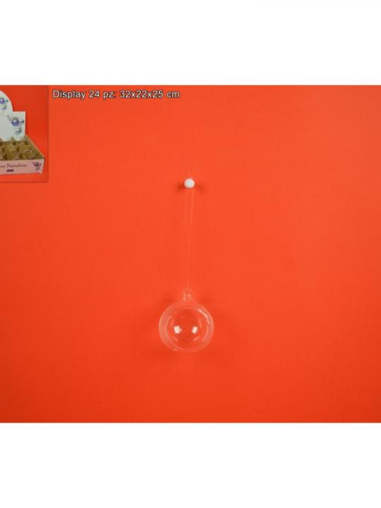 Palla Vetro Aperta 5Cm In Display Yqi410