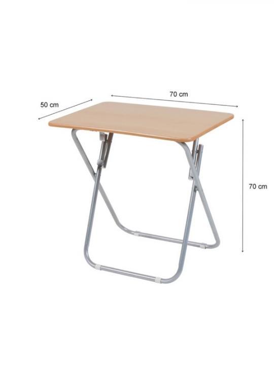 Tavolino Pieghevole Rettangolare In Legn