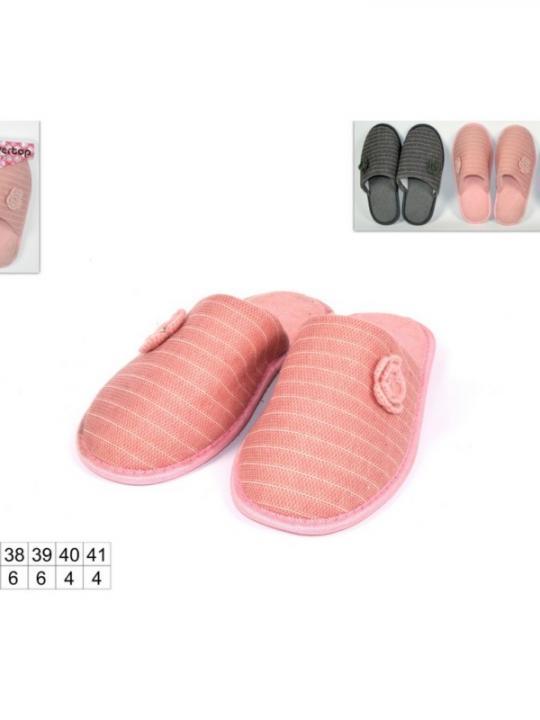 Pantofole Donna Con Fiore 36/41