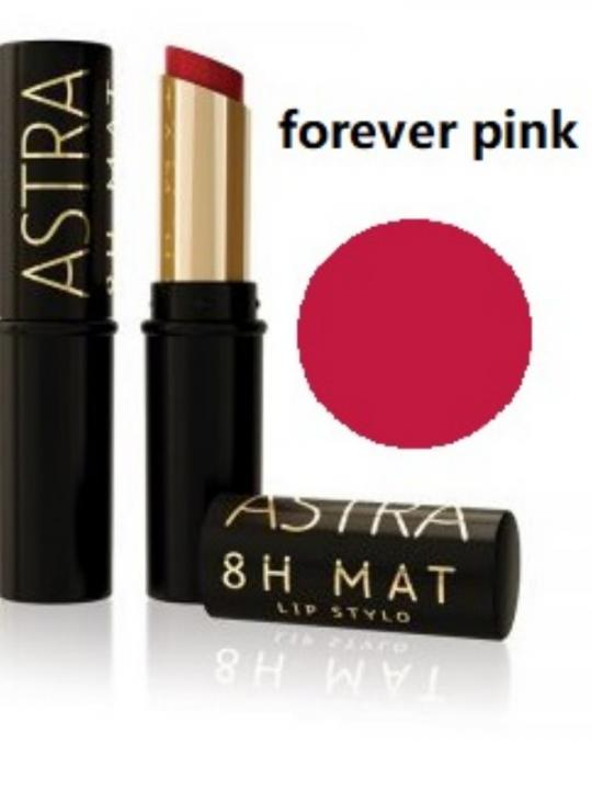 Astra 8H Mat Lip Stylo Forever Pink