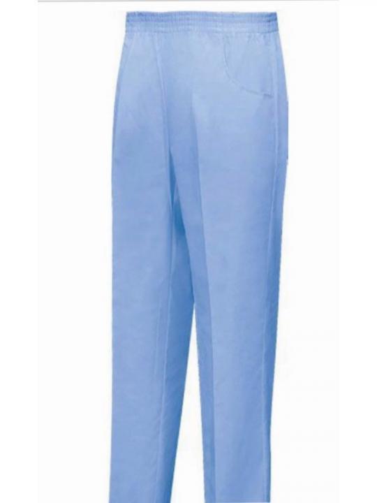 8312-4 Pantalone V/Elasticizzata Celeste