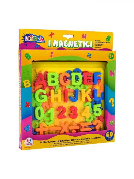Numeri/Lettere/Simboli Magnetici 67Pz