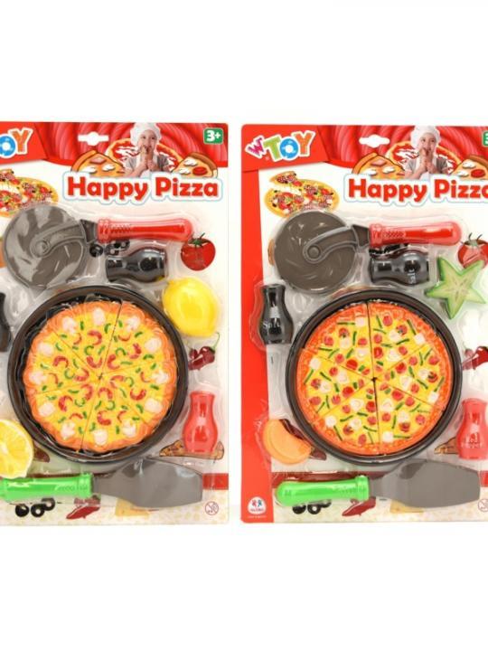 Set Pizza C/Accessori Ass