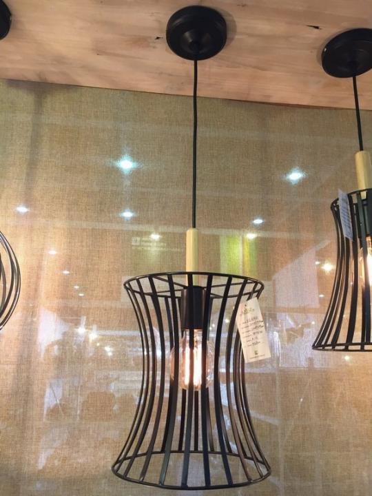 Lampada Soff Met+Legno Khay D22Xh37