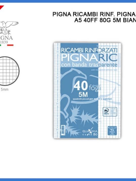 Ricambi Rinforzati A5 40Ff 80G 5M Bianco