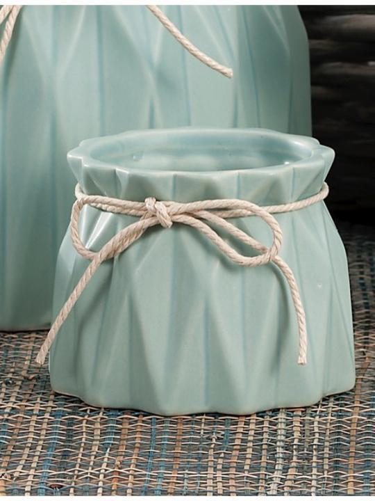 Vaso Ceramica Ass4Col Diam9Xh7