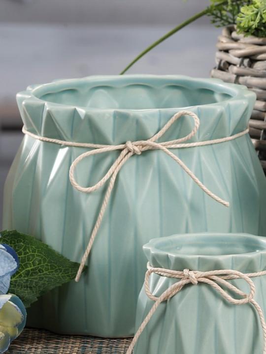 Vaso Ceramica Diam16Xh13