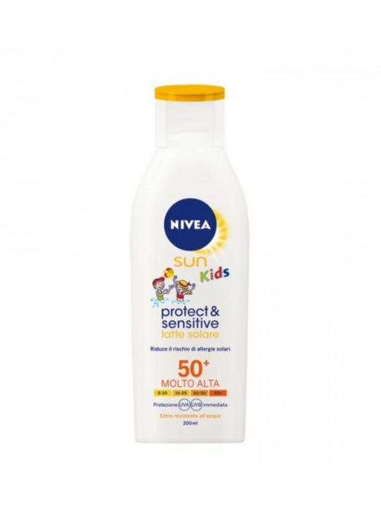 Nivea Sun Protect & Sensitive  Kids 50