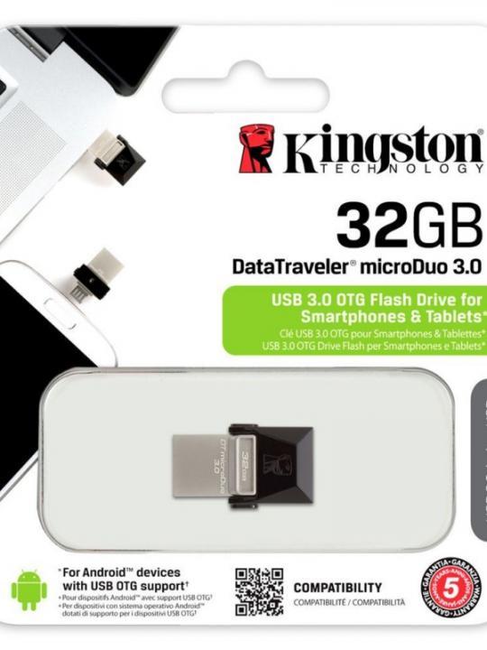 Kingston Data Traveler Micro Duo 32G