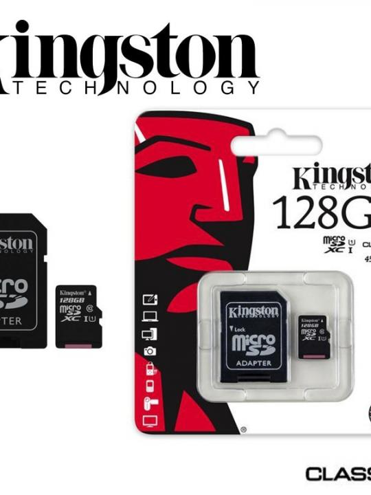 Kingston Micro Sd Card Cl10 128Gb