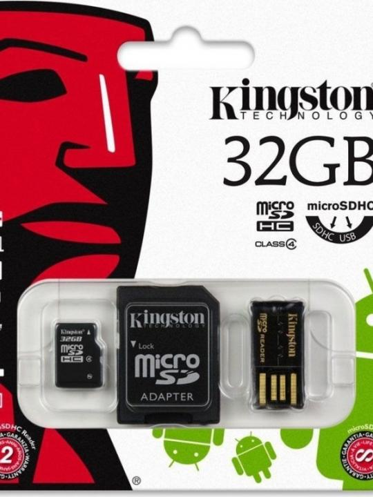 Kingston Micro Sd Mbly 10 G2 32Gb