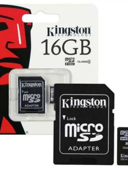Kingston Sd Hc C10 80Mb/S 16G