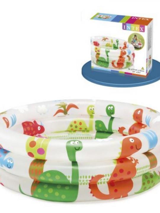 Piscina Baby Pool 3 Anelli Cm61X22