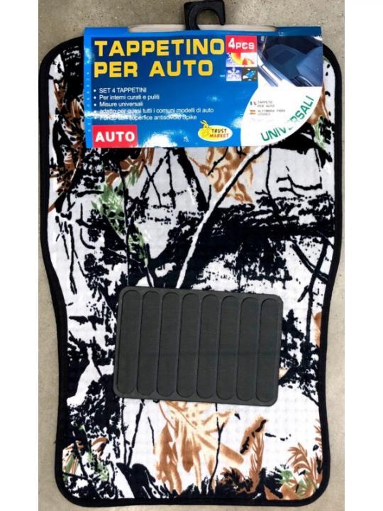 Set 3Pz Tappetini Per Auto Univ.