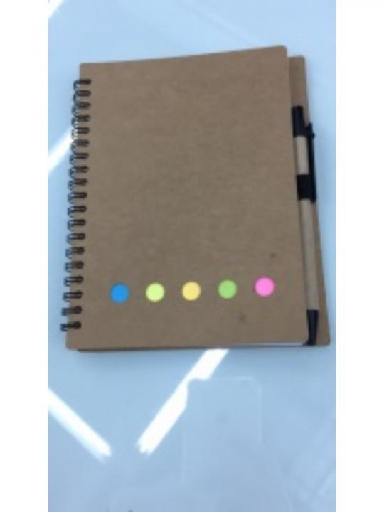 Blocco Note Con Posit Penna Pjx002