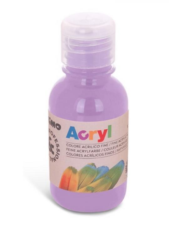 Colore Acrilico Bottiglia 125Ml Lilla 45