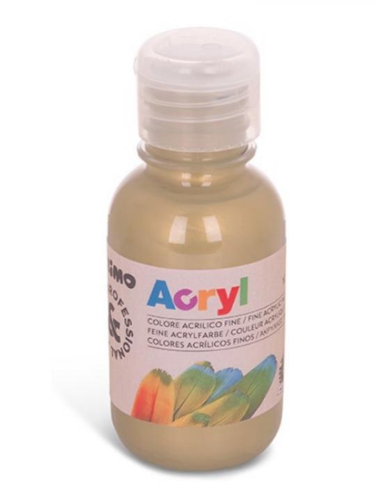 Colore Acrilico Bottiglia 125Ml Bronzo 9