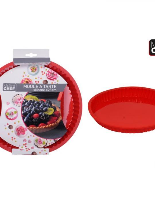 Stampo Per Torta In Silicone 28Cm Rosso