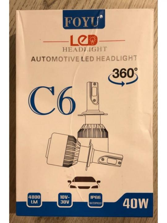 Lampadina Auto C6 H7
