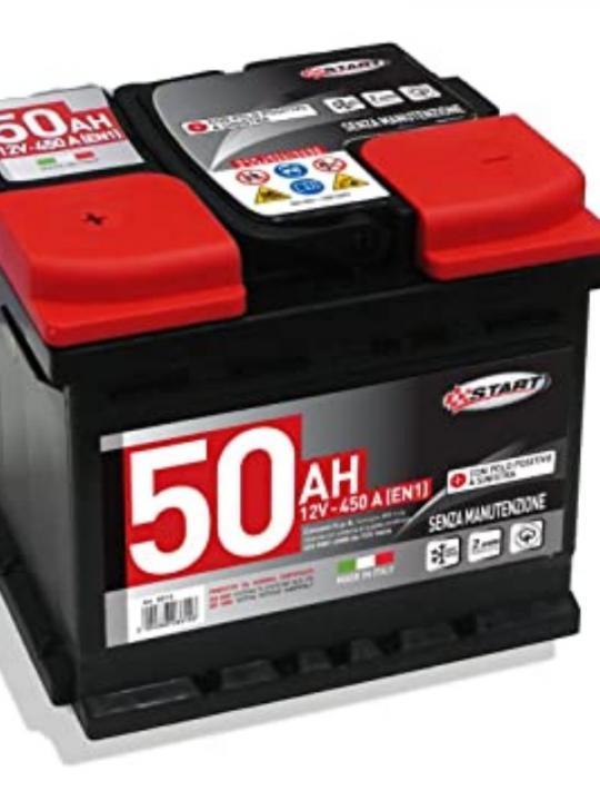 Batteria Start 50 Ah 450En Cassetta L1