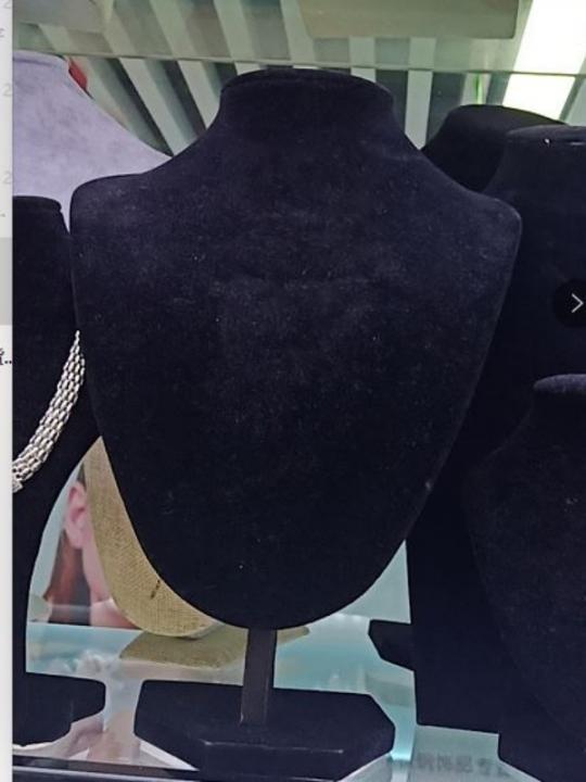Collo Porta Collana Nero