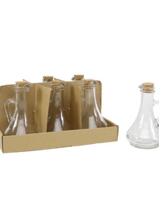 Bottiglia Di Vetro C/ Sughero