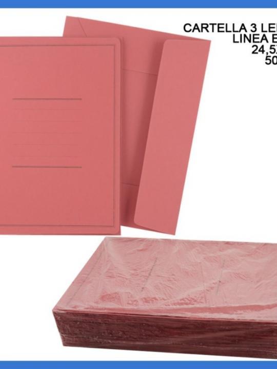Cartella 3/L Linea Eco C/Stampa 24.5X3