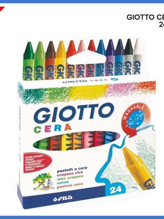 Giotto Pastelli Cera 24Pz