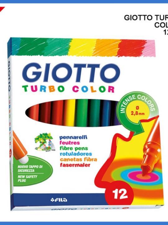 Giotto Pennarelli Turbo Color 12Pz