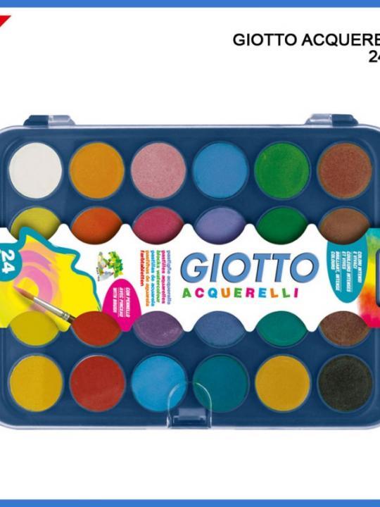 Giotto Acquarelli 24Colori