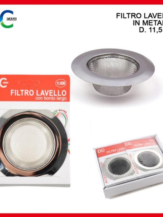 Filtro Lavello Con Bordo Larg 11.5Cm