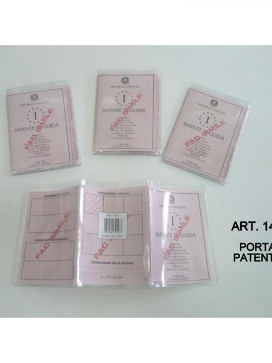 Custodia Porta Patente