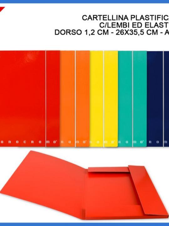 Cartellina Monocromo A4 3/L D1.2Cm 26X35