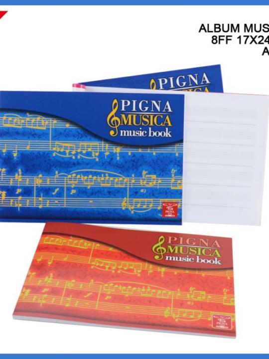 Pigna Album Musica 17X24Cm 16Ff Ass