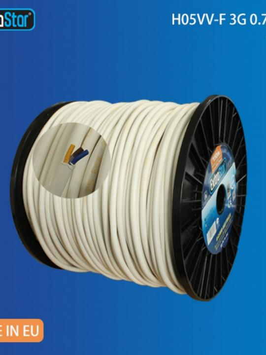 Cavo Elettrico F 3G 0.75M-150Mt