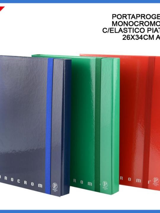 Portaprogetti C/Elast Monocromo D3 26X34